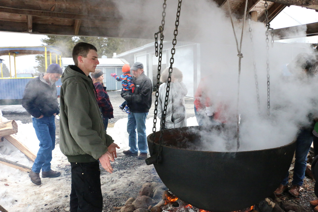 Maple Sap Distillation